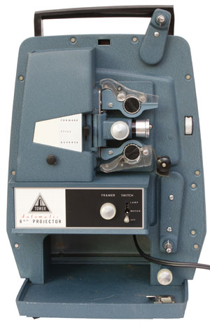 [Tower Automatic 8mm Projector]