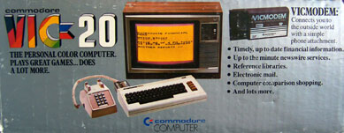 [Side of Commodore Vic 20 Box]