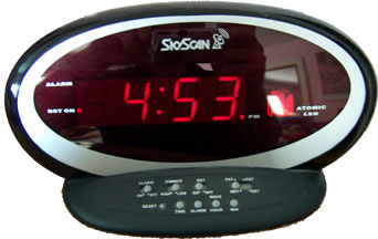 [Modern Radio Controlled LED Clock]