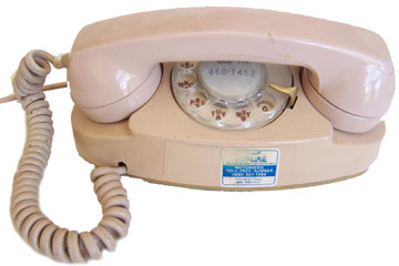 [Western Electric Princess Dial Phone]
