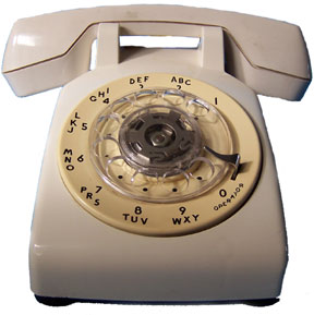 [Standard Western Electric Dial Phone]