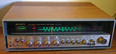 [Sony STR-6046A Stereo Receiver Amplifier]