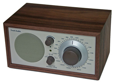 [Tivoli Audio Model One Henry Kloss AM/FM Table Radio]