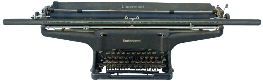 [Underwood Standard Desktop with 26 inch carriage (1946)]